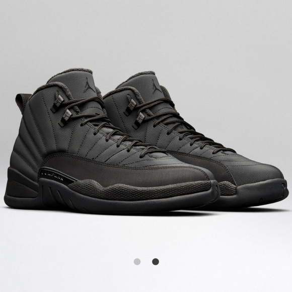 new product b0b40 8397f Air Jordan Retro 12 Winterized Black